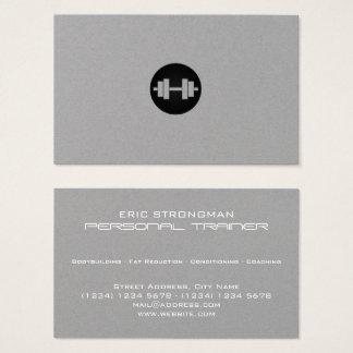 Cartão De Visitas Olhar mínimo elegante moderno do estilo