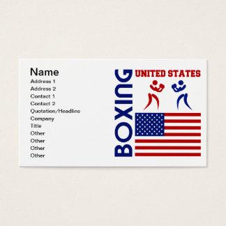 Cartão De Visitas Os Estados Unidos Boxin