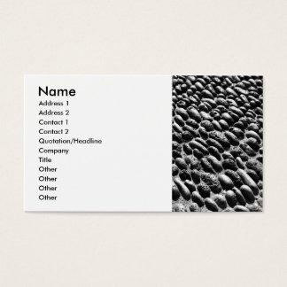 Cartão De Visitas Pavimento dos seixos