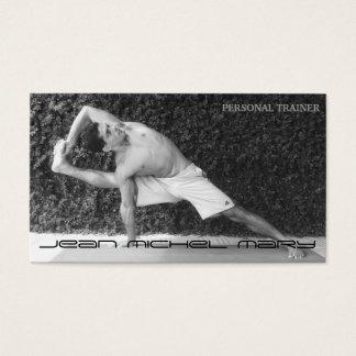 Cartão de visitas personal trainer