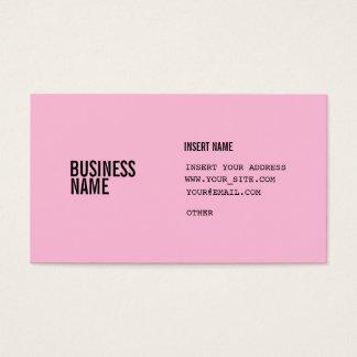 Cartão De Visitas Pias batismais condensadas preto do algodão doce
