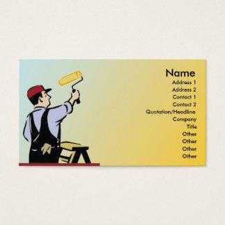 Cartão De Visitas Pintor