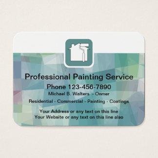 Cartão De Visitas Pintor profissional