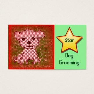 Cartão De Visitas Preparação do cão