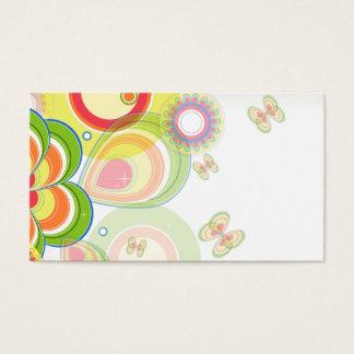 Cartão De Visitas Primavera brilhante