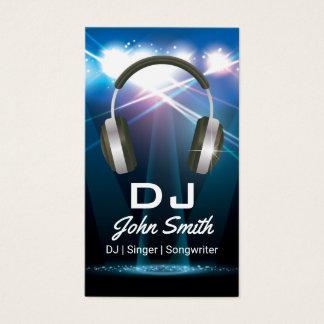Cartão De Visitas Profissional do DJ