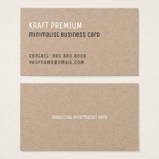 Cartão De Visitas profissional elegante minimalista superior de
