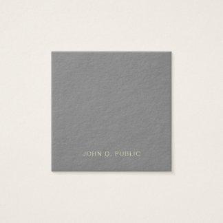 Cartão De Visitas Quadrado Luxo grosso elegante profissional moderno criativo