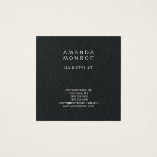 Cartão De Visitas Quadrado Quadrado liso profissional minimalista moderno