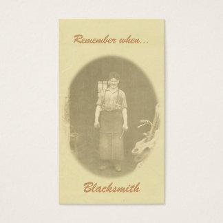 Cartão De Visitas Recorde quando…. marcador