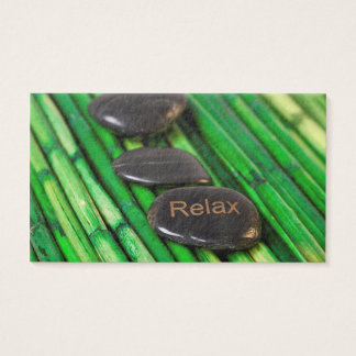 Cartão De Visitas Relaxe