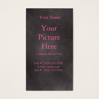 Cartão De Visitas Retro escuro