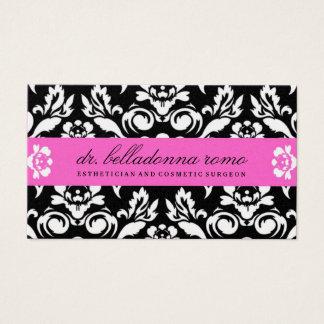Cartão De Visitas Rosa do ouro do damasco de 311 beladonas