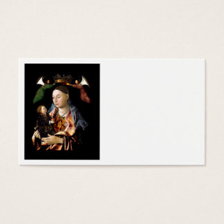 Cartão De Visitas Salgando Madonna e a criança do cristo