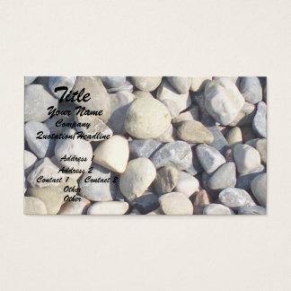 Cartão De Visitas Seixos