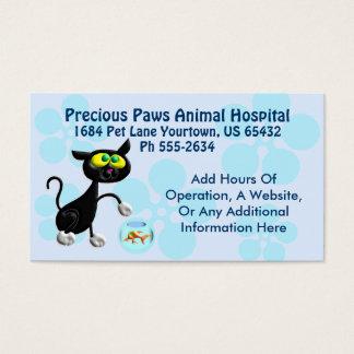 Cartão De Visitas Serviço veterinário