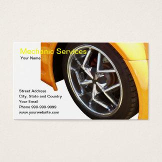Cartão De Visitas serviços do mecânico