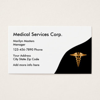 Cartão De Visitas Serviços médicos