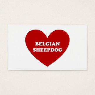 Cartão De Visitas Sheepdog belga