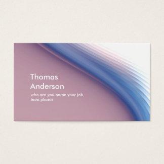 Cartão De Visitas Simples profissional limpo moderno elegante