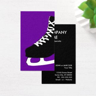 Cartão De Visitas skate de gelo