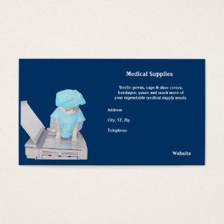Cartão De Visitas Subministros médicos