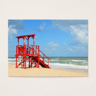Cartão De Visitas suporte vazio do lifeguard