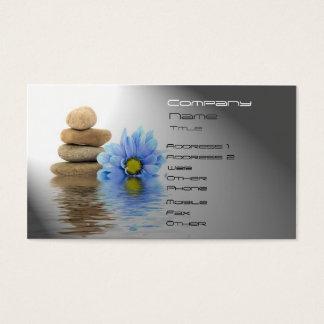 Cartão De Visitas TERMAS, bem-estar, massagem