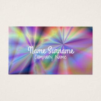 Cartão De Visitas Teste padrão colorido colorido