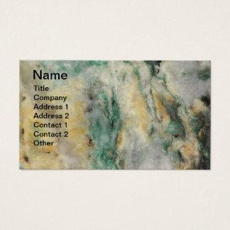 Cartão De Visitas Teste padrão de mineral de Mariposite