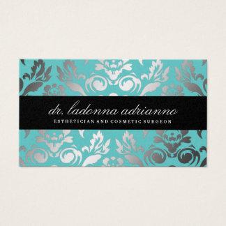Cartão De Visitas Topázio do damasco de 311 Ladonna