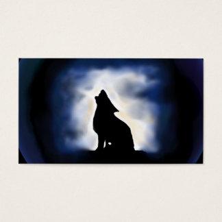 Cartão De Visitas totem - lobo