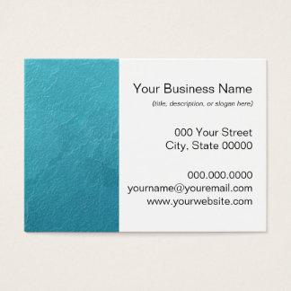 Cartão De Visitas Trabalhos de arte azuis do abstrato do gelo