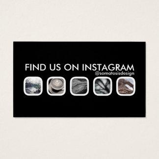 Cartão De Visitas trabalhos em rede do instagram