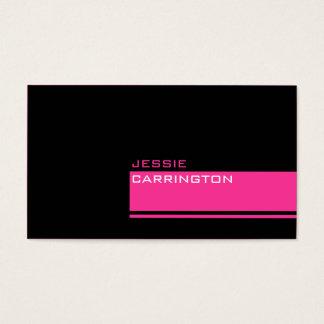 Cartão De Visitas Três cor mínima feita sob encomenda 105
