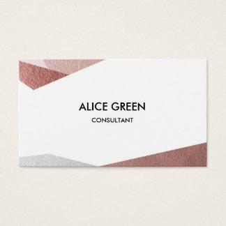 Cartão De Visitas Triângulos pastel brilhantes