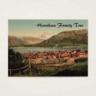 Cartão De Visitas Tromso, Troms, Nord-Norge, Noruega