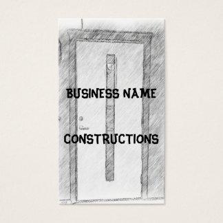 Cartão De Visitas Uma porta