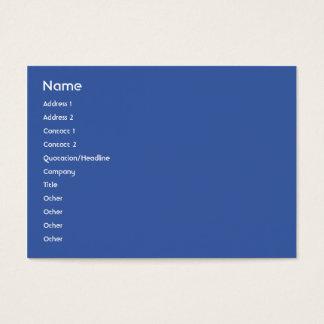 Cartão De Visitas União Europeia - carnudo