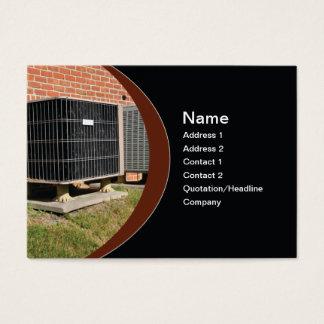 Cartão De Visitas unidade exterior do condicionador de ar