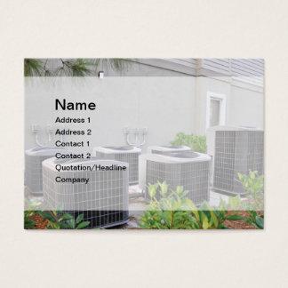 Cartão De Visitas unidades exteriores do condicionador de ar