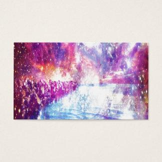 Cartão De Visitas Universo do arco-íris de Veneza