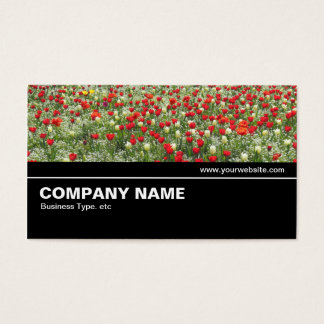 Cartão De Visitas V2 incompleto 033 - cama das tulipas