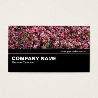 Cartão De Visitas V2 incompletos - Flor de cerejeira cor-de-rosa