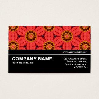 Cartão De Visitas V3 incompleto 02 - flores geométricas