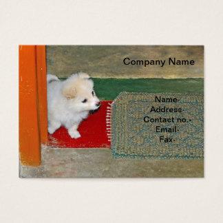 Cartão De Visitas Veterinário/cão/animal de estimação
