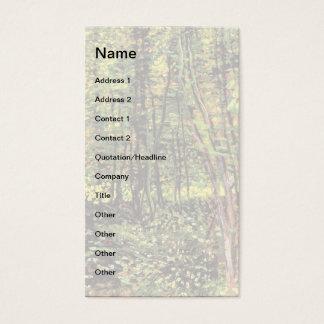 Cartão De Visitas Vincent van Gogh - árvores e belas artes do