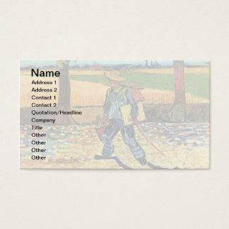 Cartão De Visitas Vincent van Gogh - pintor em sua maneira de