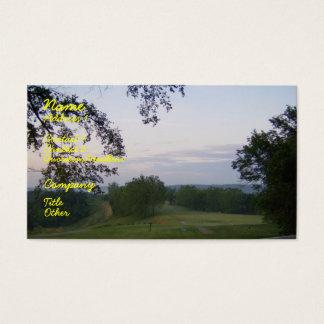 Cartão De Visitas Vista sobre a paisagem de Kentucky
