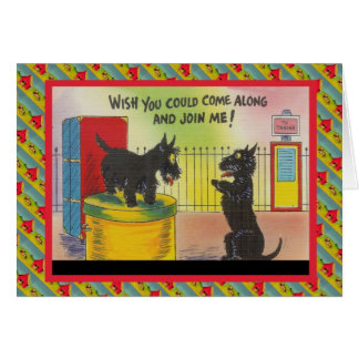 Cartão Desejo você poderia vir avante e juntar-se me
